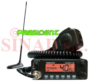 PRESIDENT HARRY III ASC 12/24V + ANTENA PRESIDENT VIRGINIA